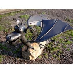 Kovaný drak Mrak - kovaná...