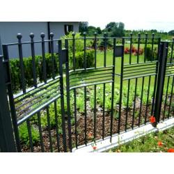 Kovaný plot - originální design - Mladá Boleslav
