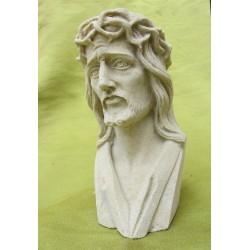 pískovcová bysta ježíš Kristus