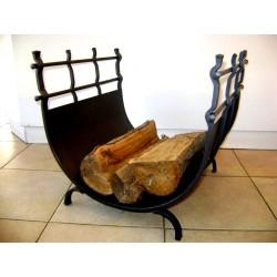 Kovaný koš na dřevo KN-04