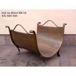 Kovový koš na dřevo KN-10...